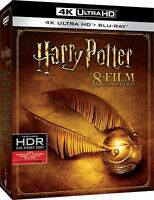 Harry Potter 8 Film Collection Cofanetto Box (8 Blu-Ray 4K Ultra HD + 8 Blu-Ray)