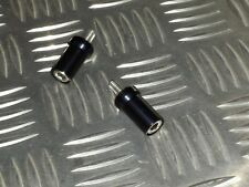 TRIUMPH THUNDERBIRD 1600 & 1700 , STORM BLACK ANODISED, RIDERS SEAT BOLTS