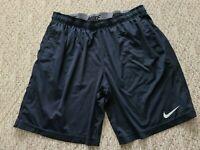 EUC Nike Dri-Fit Men's Basketball Athletic Workout Shorts Black Size Large L