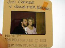 Original Press Promo Slide Negative - Joe Cocker & Jennifer Warnes - 1983