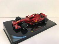 Hot Wheels Elite 1/43 N5604 Ferrari F2007 K.Raikkonen 200th Ferrari Victory