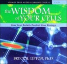 The Wisdom of Your Cells: How Your Beliefs Control Your Biology by Lipton 8 CDs