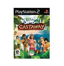 The Sims 2 Castaway (PS2, 2007) PAL Disc Mint Brand New Case Retro Rare J1L