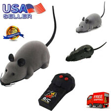 New listing Rc Funny Wireless Electronic Remote Control Mouse Mice Rat Pet Toy For Cat Toys