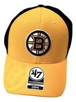 '47 Contender Mens Stretch Fit NHL Boston Bruins Hat Cap New