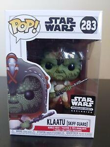 Star Wars Funko Pop - Klaatu (Skiff Guard) - Smugglers Bounty - No. 283
