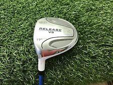"NICE U.S. Kids Golf RELEASE V5 3 Fairway WOOD 17* Left LH TS WHITE 36.5"" USKG"