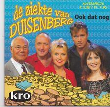 Ook Dat Nog-De Ziekte Van Duisenberg cd single