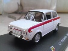 Véhicules miniatures blancs pour Abarth 1:43