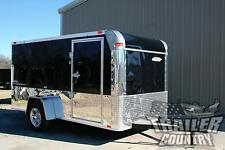 NEW 6x12 6 x 12 LOW RIDER Low Profile Motorcycle Enclosed Cargo Trailer w/ Ramp