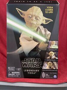 Star Wars Legendary Interactive Jedi Master YODA  Collector Edition NEW Sealed!