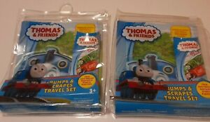 2 Thomas & Friends Bumps & Scrapes Travel Set Plasters Cold Pack. 2 Bags New (b)