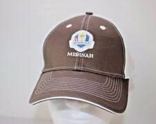 Ryder Cup 2012 Medinah Extreme Fit Golf Baseball Cap Brown White Adjustable