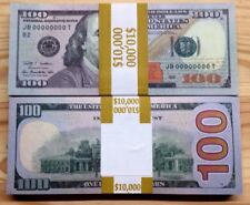 100 PIECES INVALID NOVELTY AMERICAN $100 HIGH QUALITY BEST FAKE PAPER MONEY NOEL