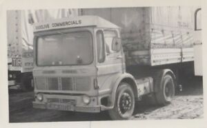 LEYLAND LORRY PHOTO PHOTOGRAPH RADCLIVE COMMERCIALS TRUCK PICTURE OMR884G ARTIC.
