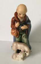 Goebel Hummel Shepard Standing With Sheep Nativity Porcelain Figurine 6 Inches