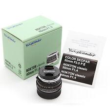 NIB Voigtlander NOKTON classic 40mm F1.4 M.C VM for Leica M240 M9 P M7 MP M6 M-P