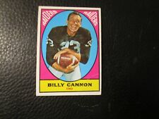 1967  TOPPS  CARD#109 BILLY CANNON  RAIDERS  VG+