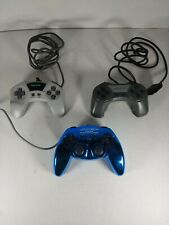 3 Pack of Generic Controllers for Playstation 2 The Rock, SuperPad, Joytech B1