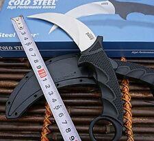 New Cold Steel Tiger Karambit Hals feststehendes Messer VG-1 Blade-W / Mantel
