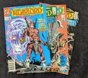 Dc comics the warlord 106-109