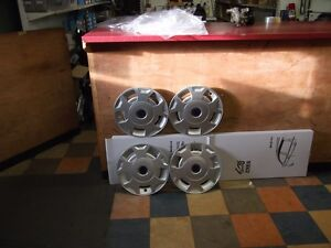 "4 x 16"" WHEEL TRIM TO SUIT FORD TRANSIT 2000-> MK6 MK7 NEW"