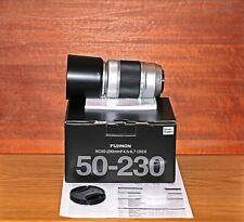 Fujifilm Fujinon XC 50-230 mm F/4.5-6.7 OIS II Objektiv - silber, neu, unbenutzt