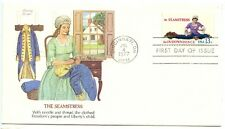 1977 FDC, SKILLED HANDS FOR INDEPENDENCE,  X4 COVERS
