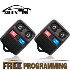 2x New Replacement Keyless Entry Remote Control Alarm Key Fob Clicker For Ford