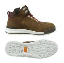 Scruffs Switchback Safety Hiker Work BOOTS Steel Toe Leather Brown 3x Socks Uk10 Eu44
