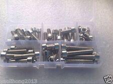 NEW Stainless steel Hex Socket Head Cap Screw M6 Qty 48 pcs Assortment M6×35mm
