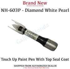 Genuine OEM Honda Touch Up Paint Pen Diamond White Pearl (08703-NH603-PAHA1