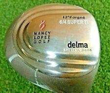 Nancy Lopez Golf Delma Specialwood 6/4 Super Ti Driver RH  FM3  NEW GRIP /mm3961