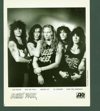 Sleeze Beez rare press photo Glam Metal Don Van Spall Jan Koster Chris Jaarsveld