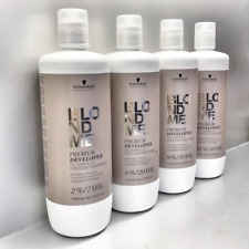 schwarzkopf blondme premium developer 1000ml used with blondme colour products