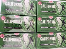 6 CALIFORNIA DIETER DRINK EXTRA STRENGTH TEA 1.76 OZ. FAST SHIPPING