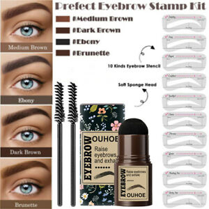 Augenbrauenstempel Augenbrauen-Stempelkit Eyebrow Stamp Augenbrauenpuder Damen