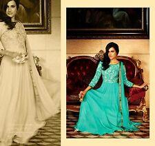 salwar kameez indian wear designer bollywood punjabi frock anarkali green suit