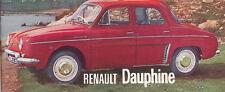 RENAULT DAUPHINE Brochure