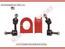 4PC Front Sway Bar Links Bushings Trailblazer Envoy Bravada K6665 K6666 K80773
