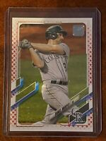 2021 Topps Series 1 Independence Day Parallel Stars Daniel Murphy #129 SN /76