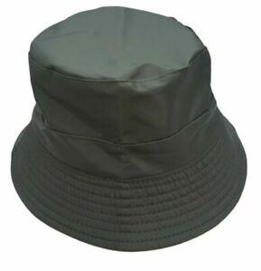GREEN Rainproof Bucket Hat Women's Men's Outdoor Fashion FREEPOST Waterproof
