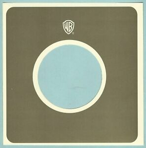 WARNER BROTHERS (green/cream) REPRODUCTION RECORD COMPANY SLEEVES - (pack of 10)
