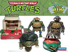 TMNT Mini Mutants Playsets Turtle in a Turtle Tokka 1994 U CHOOSE Mighty Max
