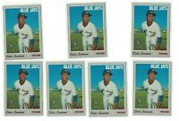 7) Elvis Luciano 2019 Topps Heritage High Numbers Rookie Lot #576 BLUE JAYS