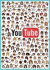 Youtubers Poster Parfait Chambre À Coucher Poster pour vloggers nouvelle mise à jour Large A1 Fourchette