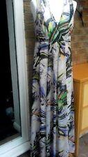Maxi dress size 12 BNWT holiday multicolour grecian
