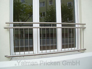 Absturzsicherung Fenstergitter aus Edelstahl V2A 170 x 90 cm