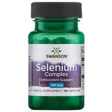 Swanson Selenium Complex 200 mcg 90 Capsules
