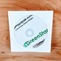 USCutter GreenStar Banner Templates PC CD Software Clip Art Kappedcolor Media